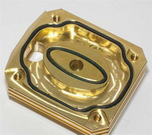 China Custom Precision Machined for Gold Plated Brass Guitar Neck Plate | Precision Cnc Machining Parts