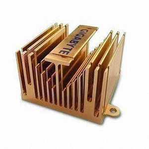 Aluminum Heatsink with Colorful Anodized Surface | Aluminium Extrusion Profiles China